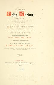 Cover of: Diary of Iohn Evelyn