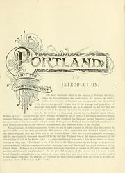 Cover of: Portland [Me.] its representative business men and its points of interest by George F. Bacon