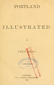 Cover of: Portland illustrated by John Neal