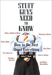 Cover of: Stuff Guys Need To Know