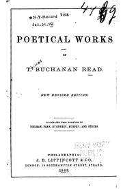 Cover of: The poetical works of T. Buchanan Read