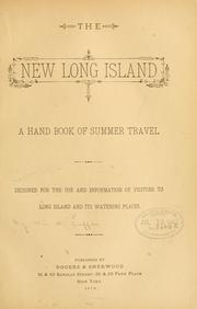 Cover of: new Long Island | William M. Laffan
