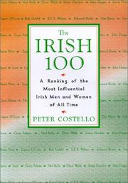 Cover of: The Irish 100