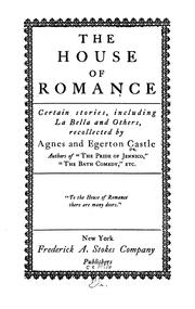 Cover of: The house of romance