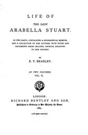 Cover of: Life of the Lady Arabella Stuart | Mrs. A. Murray Smith