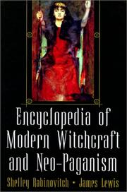 Cover of: Encyclopedia Of Modern Witchcraft And Neo-Paganism