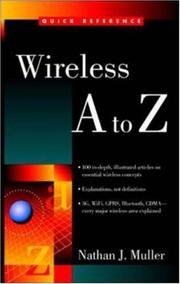 Cover of: Wireless A to Z | Nathan J. Muller