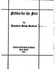 Cover of: Fables for the fair