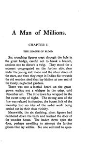 Cover of: A man of millions