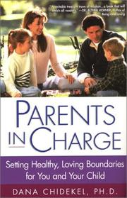 Cover of: Parents In Charge