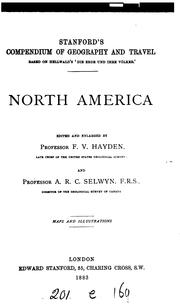 Cover of: North America | F. V. Hayden