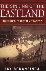 Cover of: The sinking of the Eastland