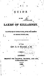 Cover of: A guide to the Lakes of Killarney