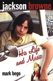Cover of: Jackson Browne