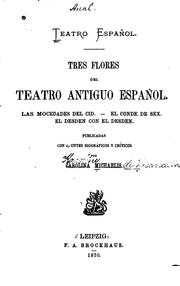 Cover of: Teatro español