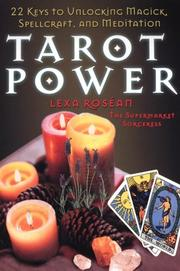 Cover of: Tarot Power