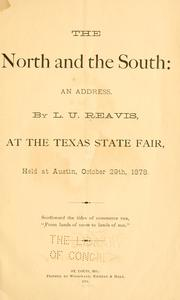 Cover of: The North and the South