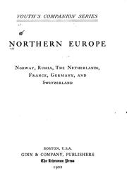 Cover of: Northern  Europe |