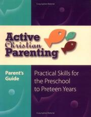 Cover of: Active Christian Parenting Parents Guide (Active Christian Parenting)
