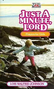Cover of: Just a minute, Lord