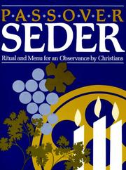 Cover of: Passover Seder | Barbara Thompson