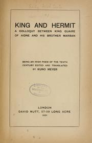 Cover of: King and hermit |