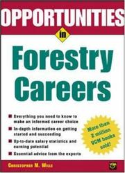 Cover of: Opportunties in Forestry Careers