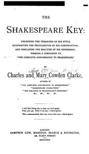 The Shakespeare key by Charles Cowden Clarke
