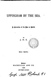 Cover of: Uppingham by the sea. | John Huntley Skrine