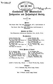 Cover of: Papers and pedigrees mainly relating to Cumberland and Westmorland