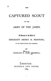 Cover of: The captured scout of the Army of the James