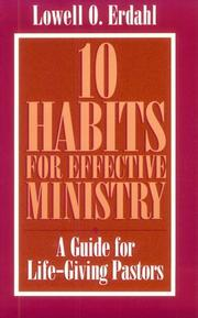 Cover of: 10 habits for effective ministry