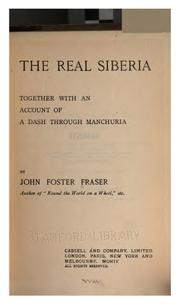 Cover of: The real Siberia