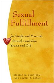 Cover of: Sexual Fulfillment | Herbert W. Chilstrom, Lowell O. Erdahl