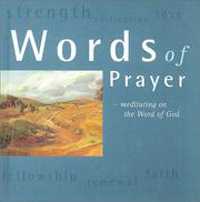 Cover of: Words of Prayer