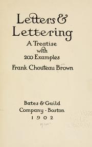 Letters & lettering
