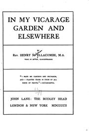 Cover of: In my vicarage garden and elsewhere