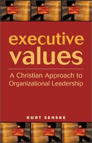 Cover of: Executive Values