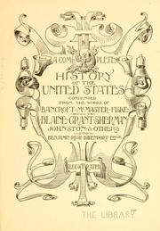 Cover of: The youths' history of the United States from the discovery of the American continent to the present time ..