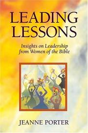 Cover of: Leading Lessons
