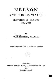 Cover of: Nelson and his captains