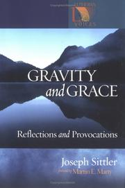 Cover of: Gravity and grace | Joseph Sittler