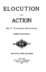 Cover of: Elocution and action | Frank Townsend Southwick