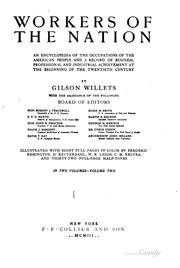 Cover of: Workers of the nation | Gilson Willets