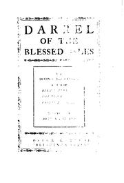 Cover of: Darrel of the Blessed Isles