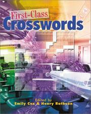 Cover of: First-Class Crosswords (Crossword) |