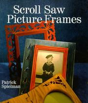 Cover of: Scroll Saw Picture Frames