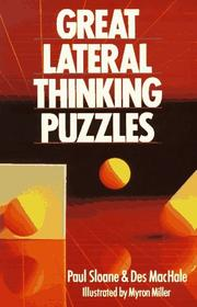 Cover of: Great lateral thinking puzzles