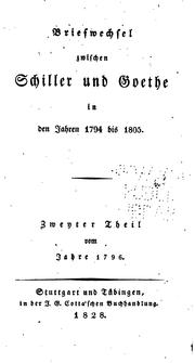 Cover of: Briefe - von Goethe