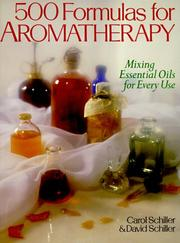 Cover of: 500 formulas for aromatherapy